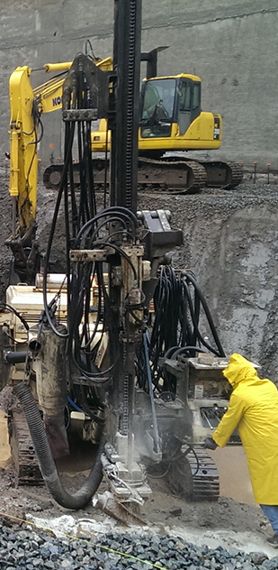 Mac-testa Contracting Corporation Rock Drilling and Breaking